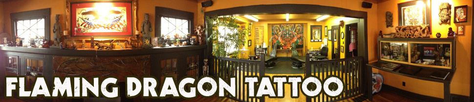 Flaming Dragon Tattoo Tacoma